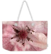 Double Dusty Rose Poppy From The Angel's Choir Mix Weekender Tote Bag