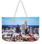 Downtown Charlotte Weekender Tote Bag
