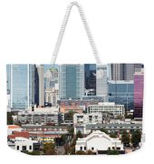 Downtown Charlotte North Carolina From The South End Weekender Tote Bag