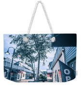 Downtown Of Newport Rhode Island At Dusk Hours Weekender Tote Bag