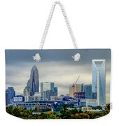 Dramatic Sky And Clouds Over Charlotte North Carolina Weekender Tote Bag