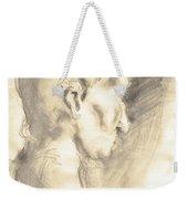 Drawing Of Ancient Sculpture Weekender Tote Bag