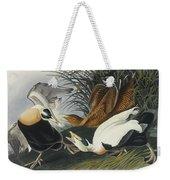 Eider Duck Weekender Tote Bag