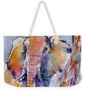 Elephant Weekender Tote Bag