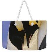 Emperor Penguin Aptenodytes Forsteri Weekender Tote Bag