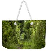 Famous Tunnel Of Love Location Weekender Tote Bag