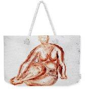 Fat Nude Woman  Weekender Tote Bag