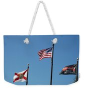 3 Flags Weekender Tote Bag