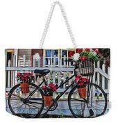 Flower Bike Collection Weekender Tote Bag