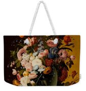 Flowers In A Glass Pitcher Weekender Tote Bag