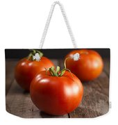 Fresh Tomatoes Weekender Tote Bag