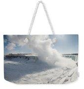 Frozen Niagara Falls Weekender Tote Bag