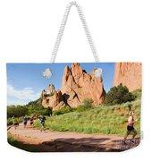 Garden Of The Gods Ten Mile Run In Colorado Springs Weekender Tote Bag