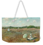 Gathering Autumn Flowers Weekender Tote Bag