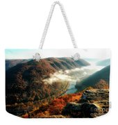 Grandview New River Gorge Weekender Tote Bag