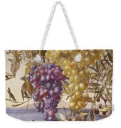 Grapes And Olives Weekender Tote Bag