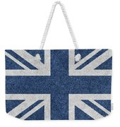Great Britain Denim Flag Weekender Tote Bag
