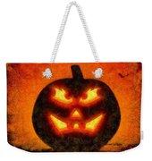 Halloween Pumpkin Weekender Tote Bag