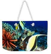 Hawaiian Reef Scene Weekender Tote Bag
