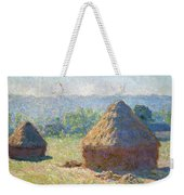 Haystacks, End Of Summer Weekender Tote Bag