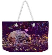 Hedgehog Animal Spur Nature Garden  Weekender Tote Bag