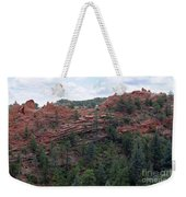 Hiking The Mesa Trail In Red Rocks Canyon Colorado Weekender Tote Bag