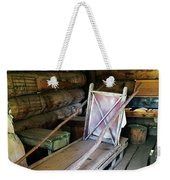 Historic Log Trappers Cabin Weekender Tote Bag