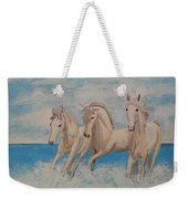 3 Horses Weekender Tote Bag