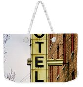 Hotel Yorba Weekender Tote Bag by Gordon Dean II
