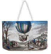 Hydrogen Balloon, 1783 Weekender Tote Bag