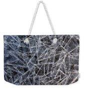 3. Ice Pattern 2, Corbridge Weekender Tote Bag