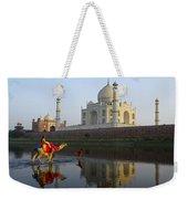 India's Taj Mahal Weekender Tote Bag
