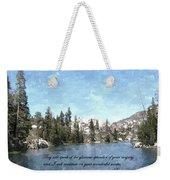 Inspirations 1 Weekender Tote Bag