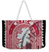 Irish Postage Stamp Weekender Tote Bag