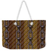 Iron Chains With Wood Seamless Texture Weekender Tote Bag