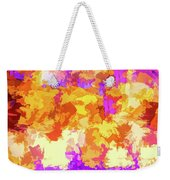 It's An Abstract Day Weekender Tote Bag