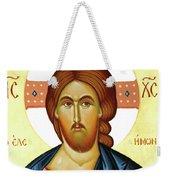 Jesus Teaching Weekender Tote Bag