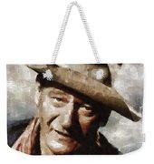 John Wayne Hollywood Actor Weekender Tote Bag