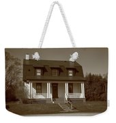 Keeper's House - Presque Isle Light Michigan Weekender Tote Bag