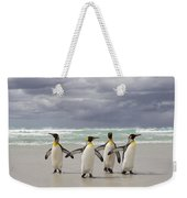 King Penguin Aptenodytes Patagonicus Weekender Tote Bag