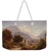 Landscape In Upper Italy Weekender Tote Bag