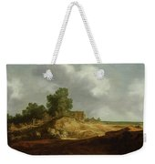 Landscape With A Cottage Weekender Tote Bag