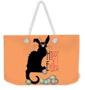Le Chat Noir - Easter Weekender Tote Bag