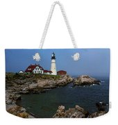 Lighthouse - Portland Head Maine Weekender Tote Bag by Frank Romeo