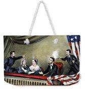 Lincoln Assassination Weekender Tote Bag