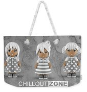 3 Little 3d Girls In Chilloutzone Weekender Tote Bag