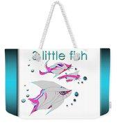 3 Little Fish Weekender Tote Bag