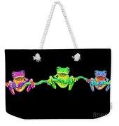 3 Little Frogs Weekender Tote Bag