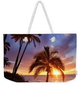 Lonely Palm Weekender Tote Bag