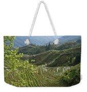 Longsheng Rice Terraces Weekender Tote Bag